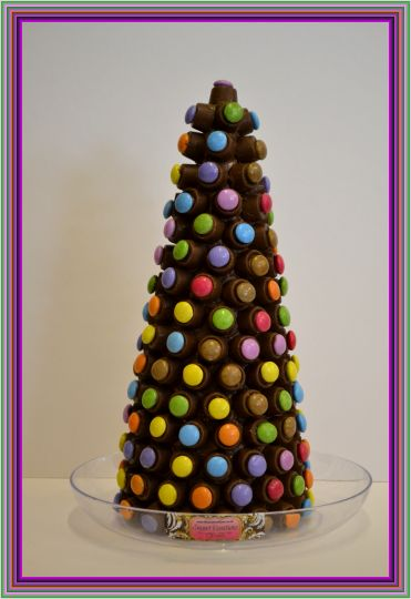 Christmas Rolo Smartie Cone Sweet Tree