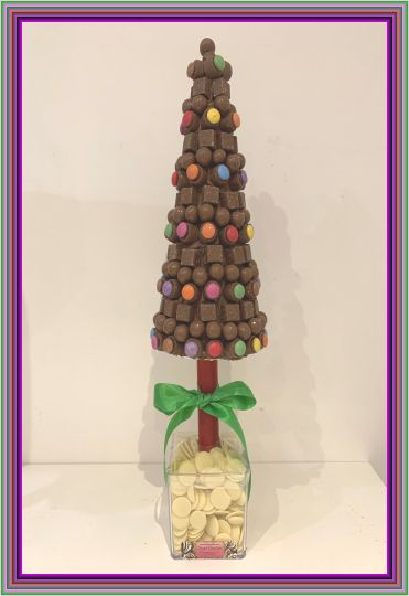 Christmas Multi Chocolate Tree 45cm Vegetarian