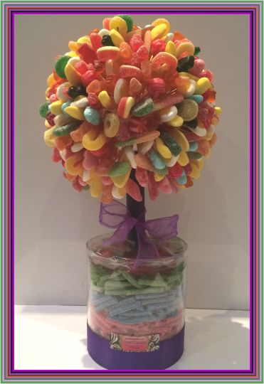Kosher Mixed Haribo Sweet Tree 60cm