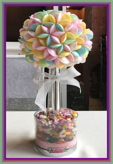 Flying Saucer Sweet Tree 50cm