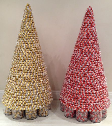 4 1/2 ft Lindt Chocolate Christmas Sweet Trees