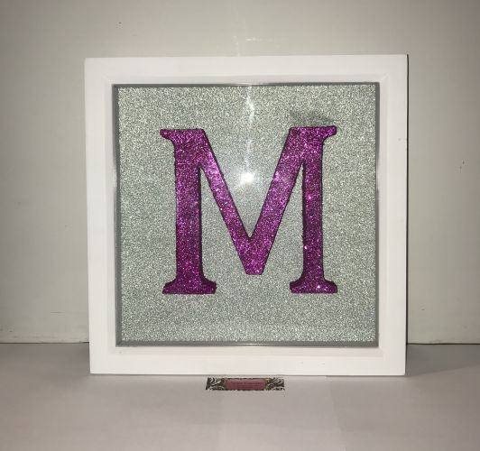 Lettered Picture Frame