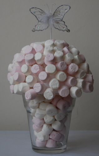 Marshmallow Butterfly Sweet Tree