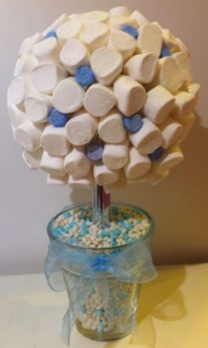 Blue & White Sweet Tree