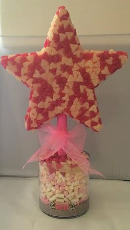Jelly Bean Star Shape Sweet Tree