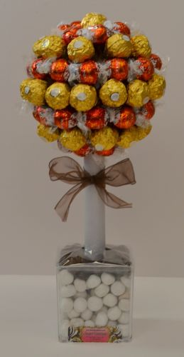 Ferrero Rocher & Lindt Sweet Tree 45cm Vegetarian