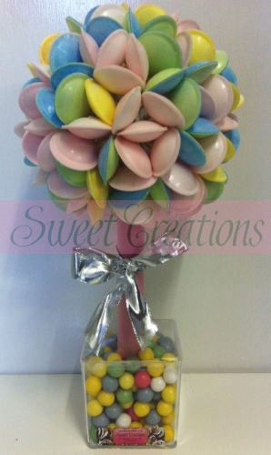 Flying Saucer Bubble Gum Sweet Tree 40cm