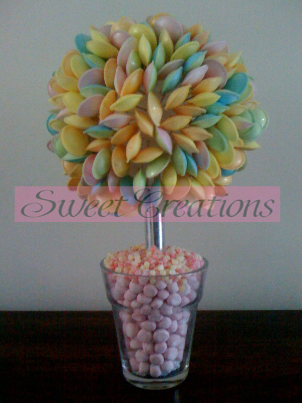 Pink Based Flying Saucer Sweet Tree 50cm
