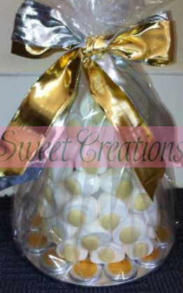 Marshmallow Chocolate Button Sweet Tree