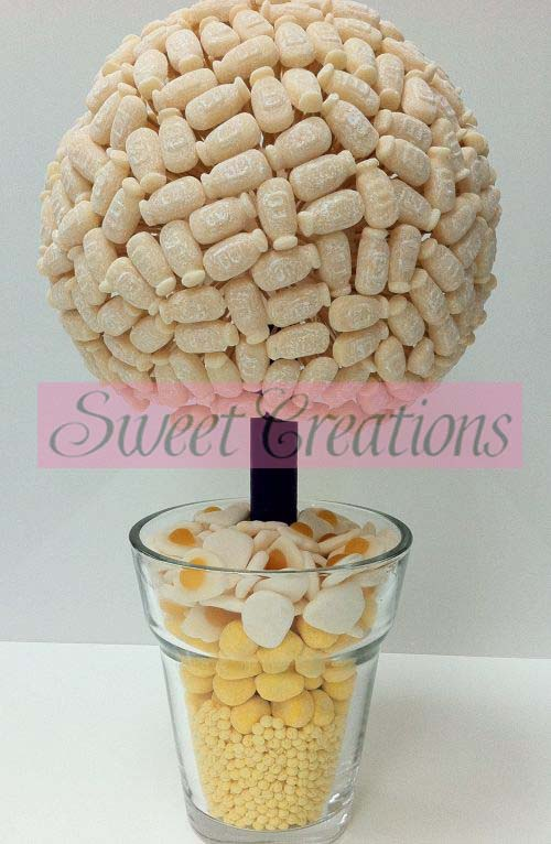 Milk Bottle Sweet Tree