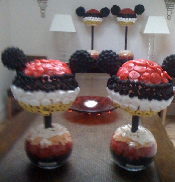 Mickey Mouse Sweet Trees party by Sweet Creations