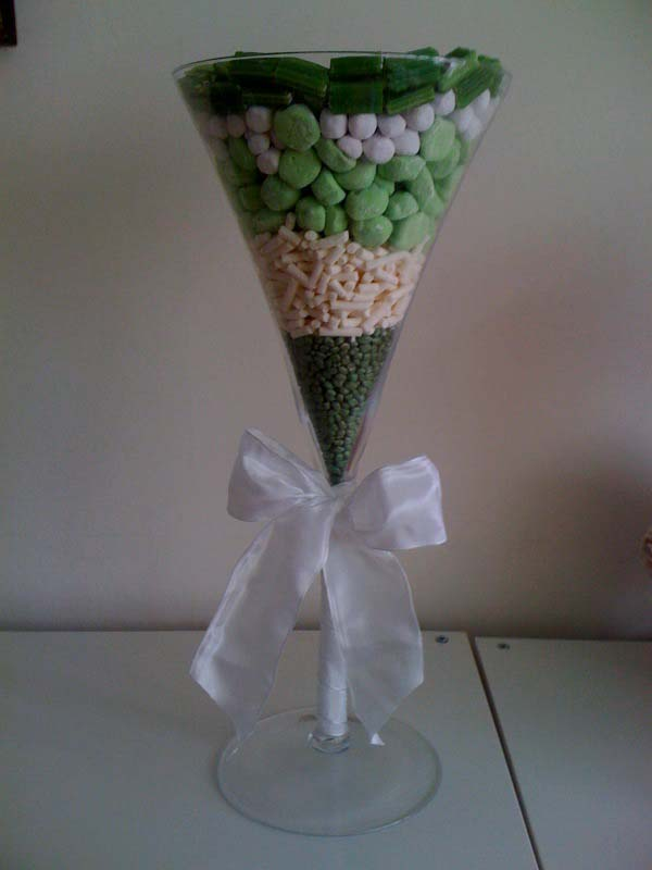 Martini Sweet Arrangement